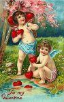 Victorian Valentine Card