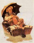 Old Man Fishing