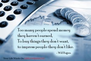 Over Spending!