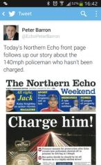 Peter Barron (Editor) - The Northern Echo
