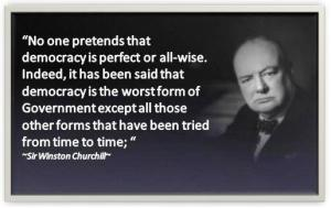 Churchill - Democracy