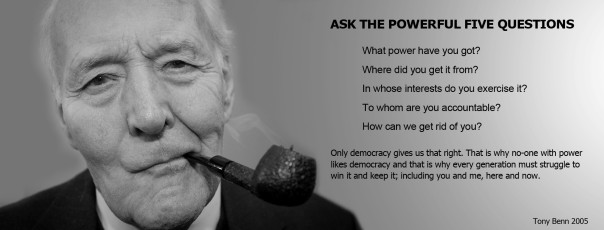 Tony Benn Quote