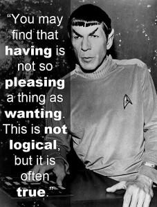 Mr Spock - Fascinating!