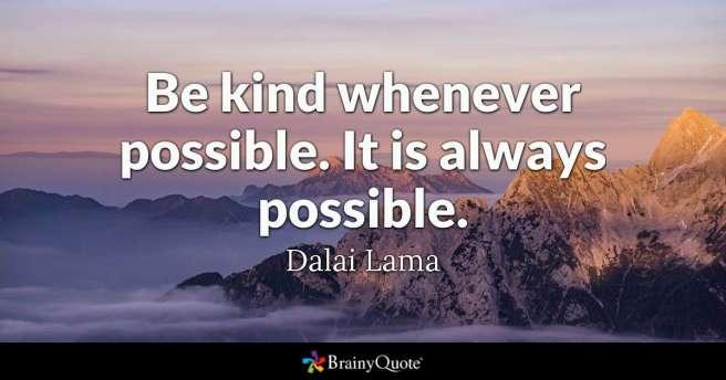 Dalai Lama - Kindness