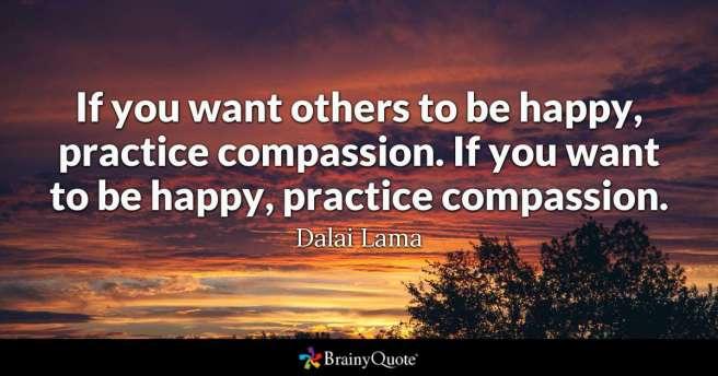 Compassion - Dalai Lama